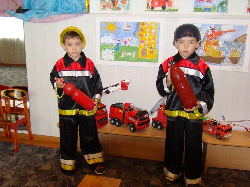 Проекта В Доу Знакомство С Пожарным